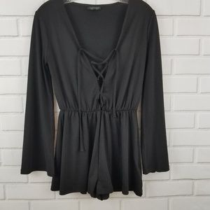 TOPSHOP long sleeved tunic top size 4